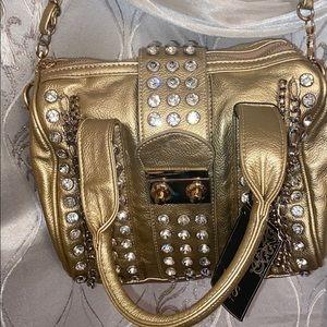 💐Beautiful NWT MMS gold purse